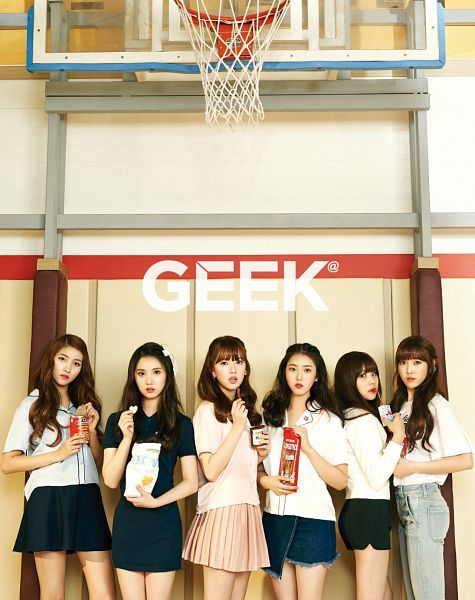 Tags: K-Pop, G-friend, Umji, Yuju, Sowon, Jung Yerin, SinB, Eunha, Chocolate, Basketball Net, Full Group, Fries
