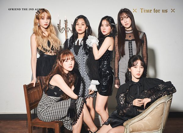 Tags: K-Pop, G-friend, Eunha, Umji, Yuju, Sowon, Jung Yerin, SinB, Gloves, Black Outfit, Sitting, Black Gloves