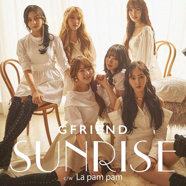 Tags: K-Pop, G-friend, SinB, Eunha, Umji, Yuju, Sowon, Jung Yerin, Blush (Make Up), Text: Song Title, Text: Album Name, Necklace