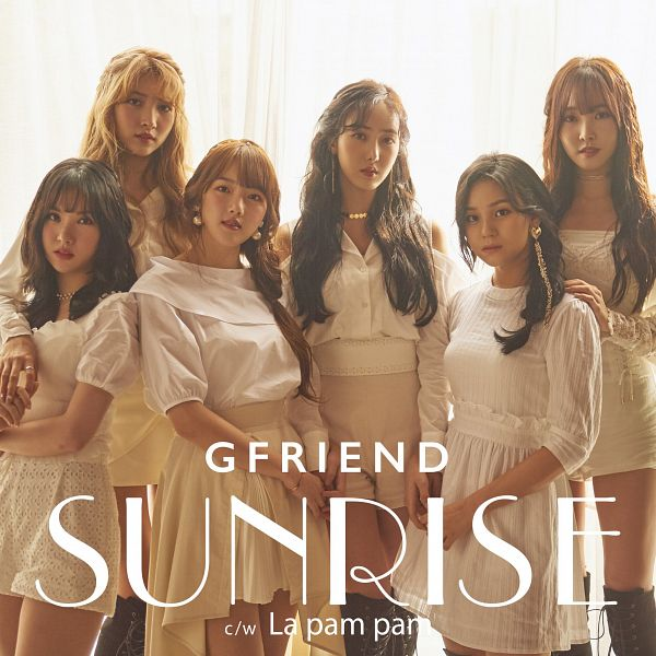 Tags: K-Pop, G-friend, Jung Yerin, SinB, Eunha, Umji, Yuju, Sowon, Ring, Text: Artist Name, White Outfit, White Dress
