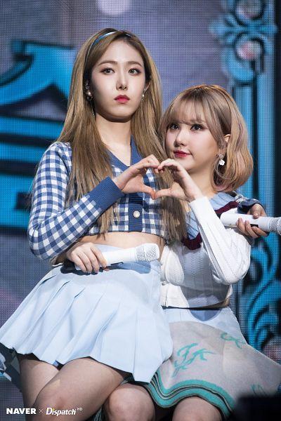 Tags: K-Pop, G-friend, SinB, Eunha, Duo