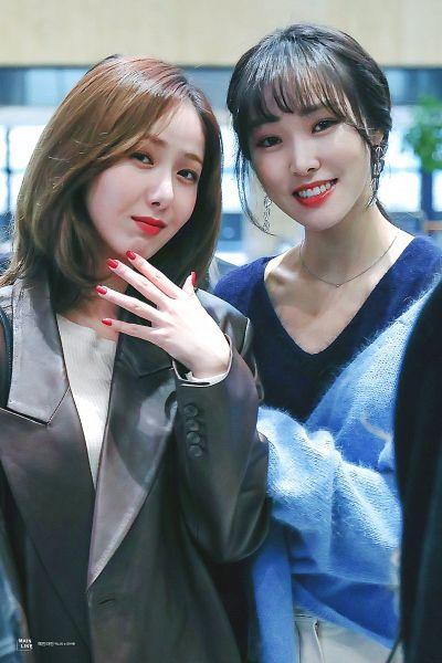 Tags: K-Pop, G-friend, Yuju, SinB