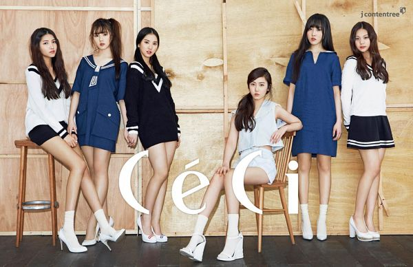 Tags: K-Pop, G-friend, SinB, Eunha, Umji, Yuju, Sowon, Jung Yerin, Sitting On Chair, Twin Tails, Chair, Hair Up