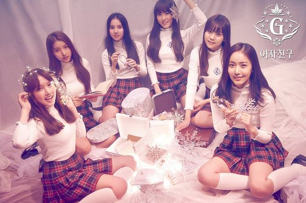 Tags: K-Pop, G-friend, Eunha, Umji, Yuju, Sowon, Jung Yerin, SinB, Snow, Snowflake (G-friend)
