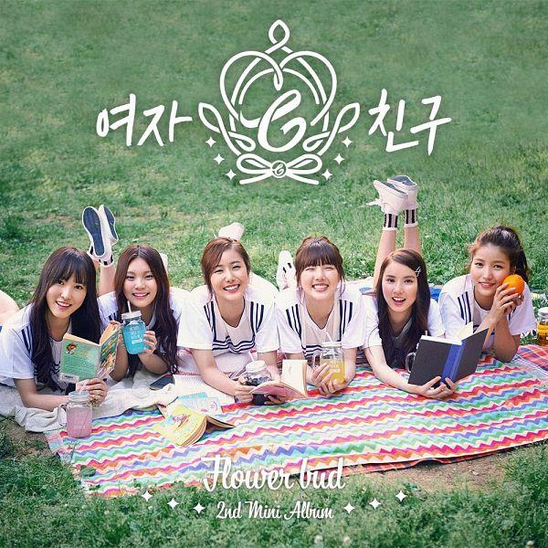 Tags: K-Pop, G-friend, Sowon, Jung Yerin, SinB, Eunha, Umji, Yuju, Group, Full Group, Grass, Laying On Stomach