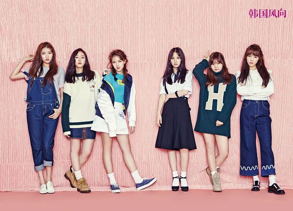 Tags: K-Pop, G-friend, Jung Yerin, SinB, Eunha, Umji, Yuju, Sowon, Full Group, Magazine Scan, K-Lifestyle, Wallpaper
