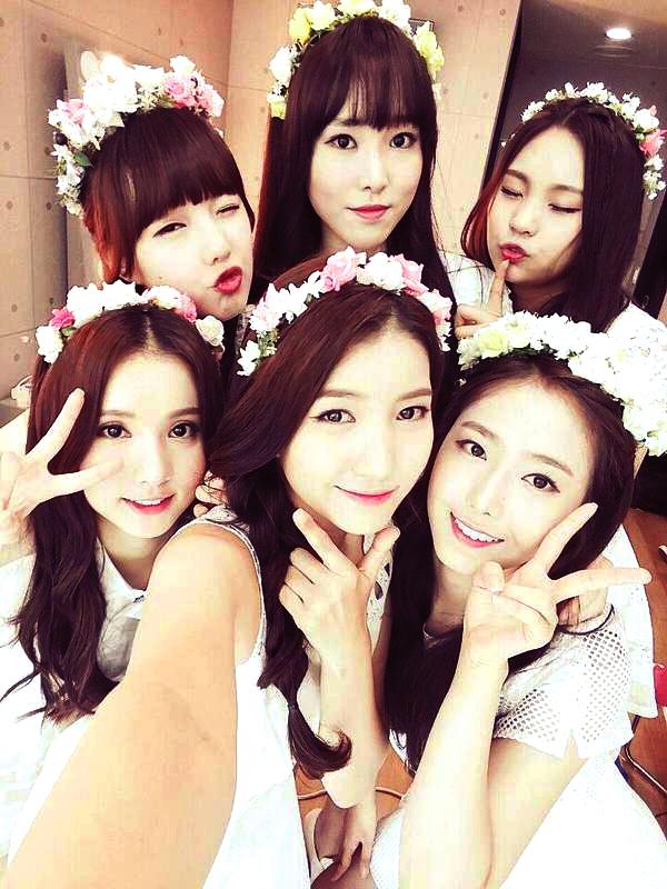 Tags: K-Pop, G-friend, Eunha, Umji, Yuju, Sowon, Jung Yerin, SinB, Backstage, Close Up, Selca, Twitter