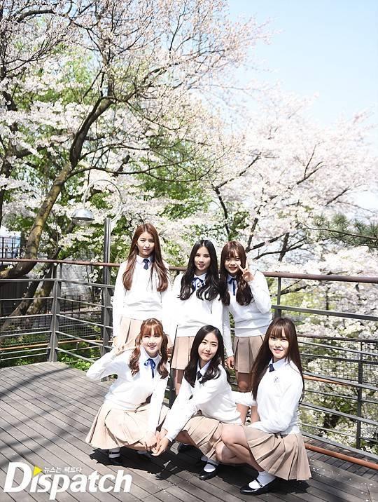 Tags: K-Pop, G-friend, Jung Yerin, SinB, Eunha, Umji, Yuju, Sowon, Socks, Tree, V Gesture, Plant
