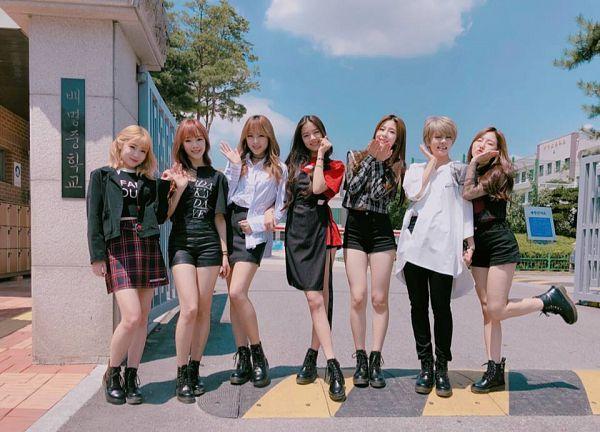 Tags: K-Pop, GWSN, Lena, Minju (GWSN), Seoryoung, Seokyoung, Anne (GWSN), Miya, Soso
