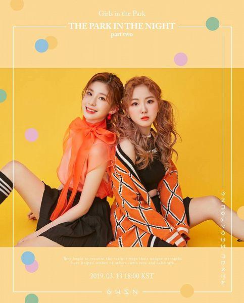 Tags: K-Pop, GWSN, Seokyoung, Minju (GWSN)