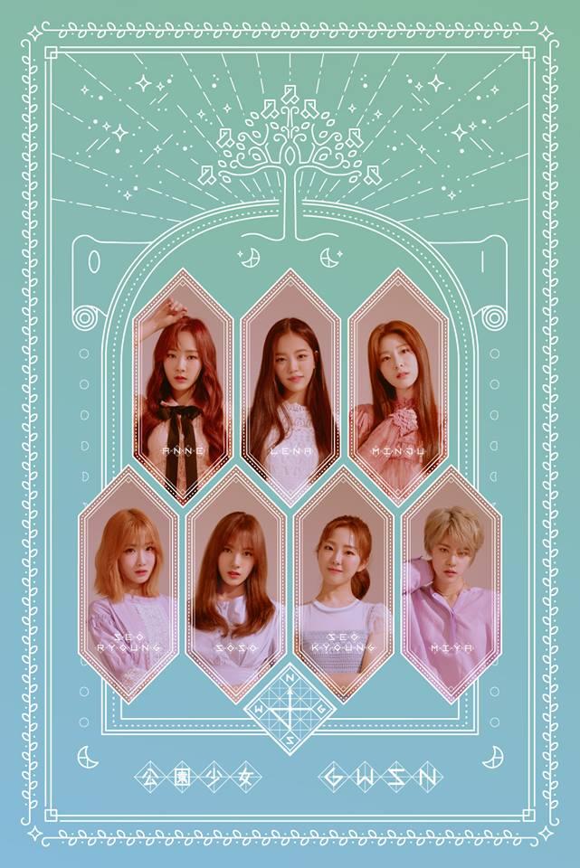 Tags: K-Pop, GWSN, Minju (GWSN), Seoryoung, Seokyoung, Anne (GWSN), Miya, Soso, Lena
