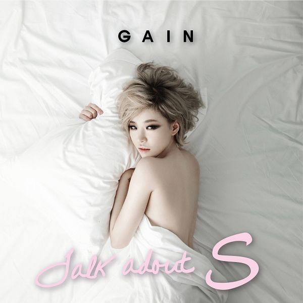 Tags: K-Pop, Brown Eyed Girls, Ga-In, Sexy Pose, Suggestive, Gray Hair, Album Cover, Talk About S