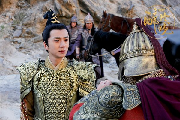 Tags: C-Drama, Gao Yiqing, Armor, Horse, Chinese Text, Animal, Lost Love In Times