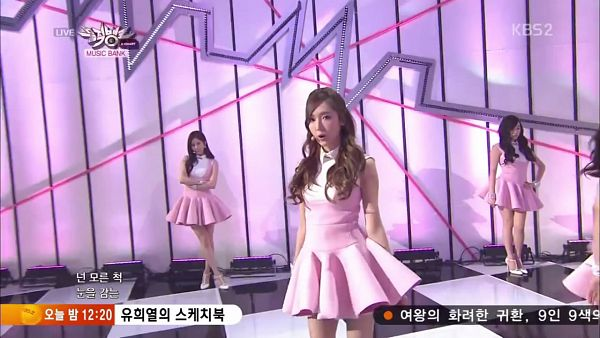 Tags: SM Town, K-Pop, Girls' Generation, Mr.Mr., Jessica Jung, Seohyun, Stephanie Young Hwang, Trio, Hand On Hip, Three Girls, Matching Outfit, Pink Dress