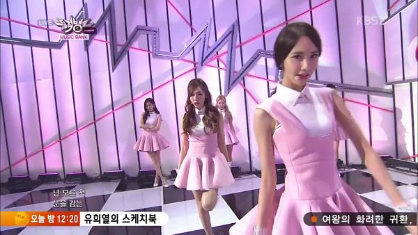 Tags: SM Town, K-Pop, Girls' Generation, Mr.Mr., Im Yoona, Kim Hyo-yeon, Stephanie Young Hwang, Jessica Jung, Matching Outfit, Pink Dress, Quartet, Four Girls