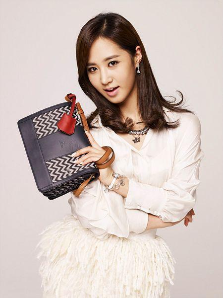 Tags: SM Town, K-Pop, Girls' Generation, Kwon Yuri, Bag, Crossed Arms, J.Estina