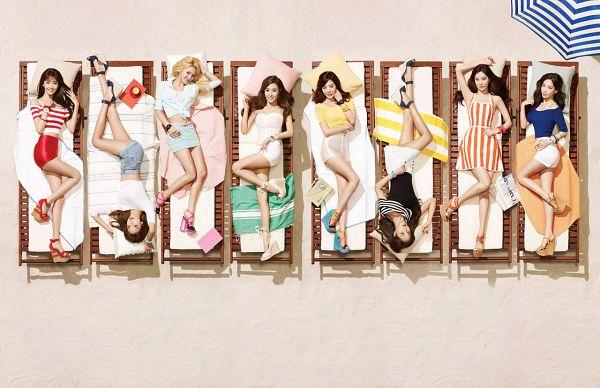 Tags: SM Town, K-Pop, Girls' Generation, Stephanie Young Hwang, Sooyoung, Seohyun, Sunny, Im Yoona, Kim Tae-yeon, Kwon Yuri, Kim Hyo-yeon, White Dress