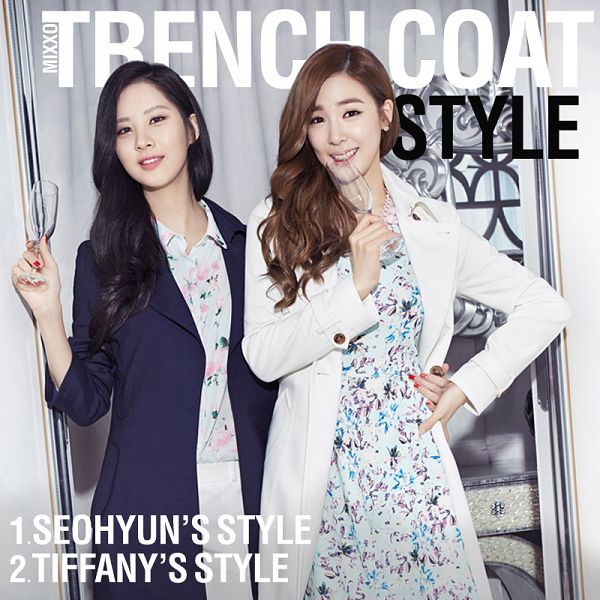 Tags: K-Pop, Girls' Generation, Seohyun, Stephanie Young Hwang, Black Jacket, Floral Dress, Hand On Hip, Arm Around Waist, Floral Shirt, Light Background, Black Outerwear, Wavy Hair