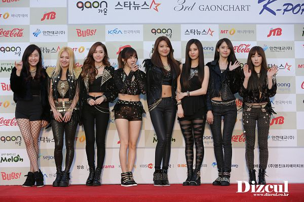 Tags: SM Town, K-Pop, Girls' Generation, Jessica Jung, Sooyoung, Im Yoona, Kim Tae-yeon, Kim Hyo-yeon, Stephanie Young Hwang, Sunny, Seohyun, Crossed Legs (Standing)
