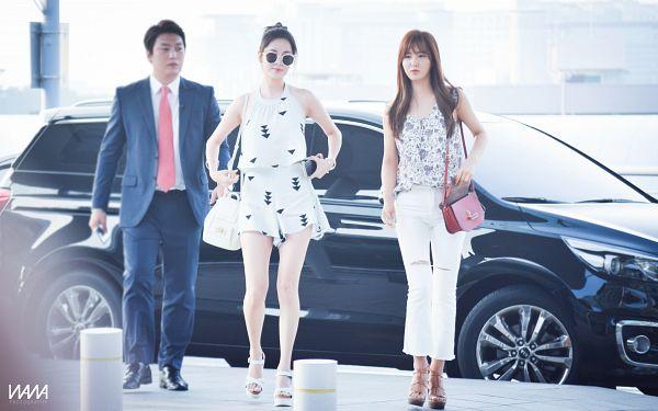 Tags: SM Town, K-Pop, Girls' Generation, Seohyun, Kwon Yuri, HD Wallpaper, Wallpaper