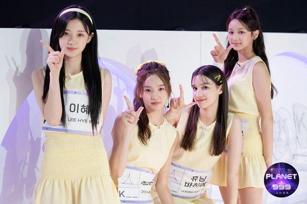 Tags: K-Pop, Cho Haeun, Lee Hyewon, Kim Yeeun, Huening Bahiyyih, Girls Planet 999