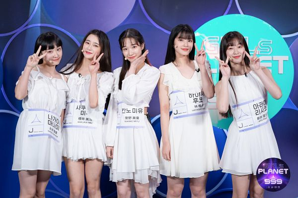 Tags: J-Pop, Hayashi Fuko, Arai Risako, Sakurai Miu, Nagai Manami, Kanno Miyu, Girls Planet 999, Mnet