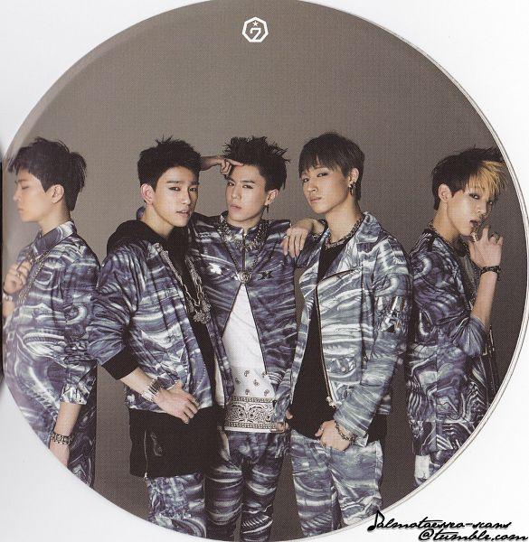 Tags: K-Pop, Got7, Choi Youngjae, Kim Yugyeom, BamBam, JB, Park Jinyoung (Junior), Ring, Group, Necklace, Five Males, Bracelet