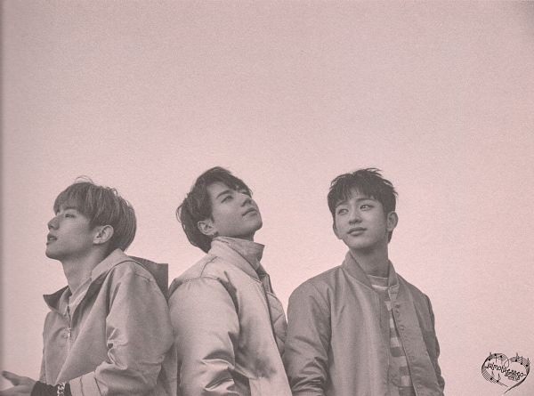 Tags: K-Pop, Got7, Park Jinyoung (Junior), Mark, Kim Yugyeom, Three Males, Trio, Monochrome, Flight Log: Departure, Scan, Wallpaper