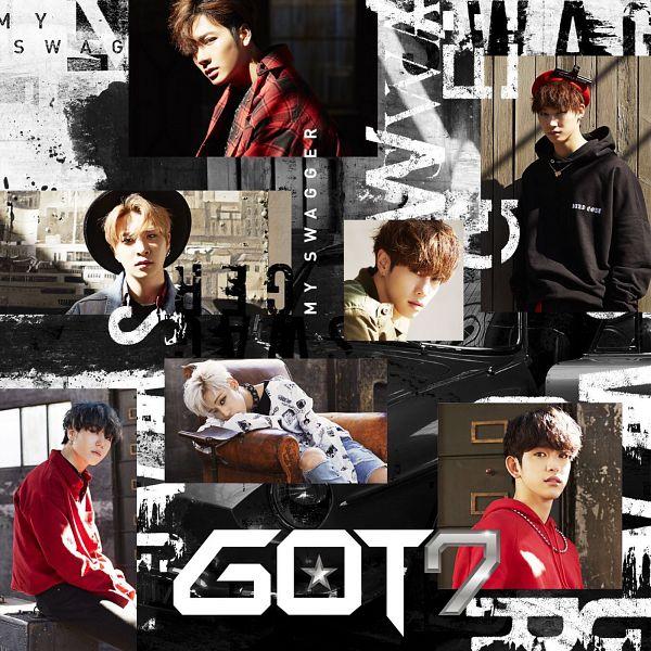 Tags: K-Pop, Got7, My Swagger, Mark, BamBam, Jackson, JB, Park Jinyoung (Junior), Choi Youngjae, Kim Yugyeom, Armchair, Black Shirt