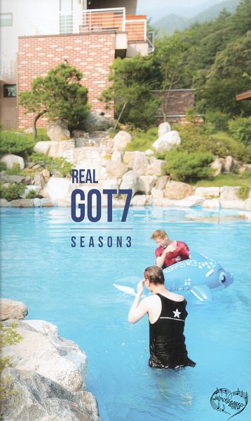 Tags: K-Pop, Got7, Kim Yugyeom, BamBam, In Water, Water, Duo, Wet Hair, Sleeveless, Red Shirt, Swimming Pool, Bare Shoulders