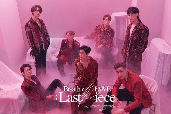 Tags: K-Pop, Got7, BamBam, Jackson, JB, Park Jinyoung (Junior), Choi Youngjae, Kim Yugyeom, Mark, Serious, Pink Hair, Medium Hair