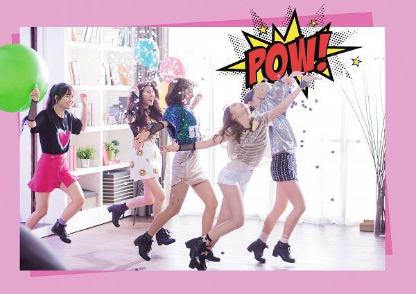 Tags: K-Pop, Busters, Grapes (Song), Kim Chaeyeon, Myeong Hyeongseo, Cha Minjeong, Jung Jisu, Kim Minji (Busters), Eyes Closed, White Skirt, Quintet, Group