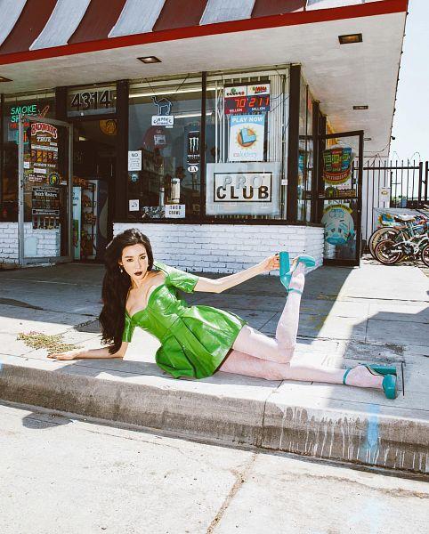 Green Dress - Dress
