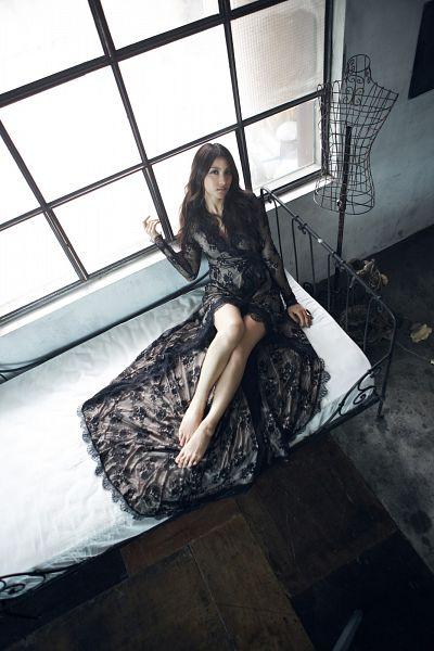 Tags: K-Pop, KARA, Gyuri Park, Sexy Pose, Suggestive, Android/iPhone Wallpaper