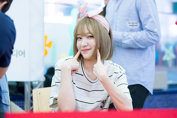 Tags: K-Pop, EXID, Hani, Fansigning Event
