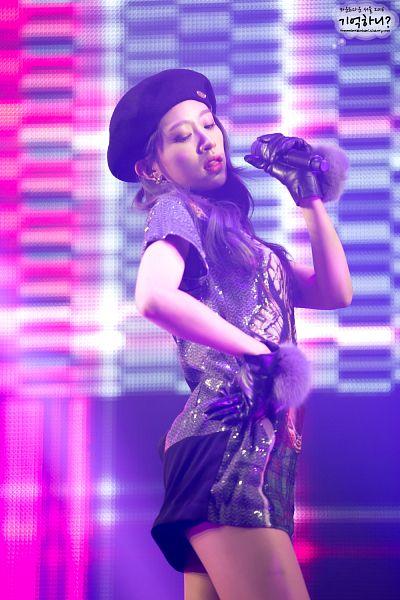 Tags: K-Pop, EXID, Hani, Gloves, Skirt, Black Headwear, Black Skirt, Black Gloves, Eyes Closed, Hand On Hip, Rememberahnhani, Android/iPhone Wallpaper