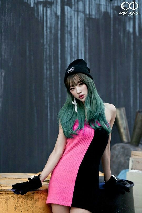 Tags: K-Pop, EXID, Hot Pink, Hani