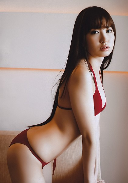 Tags: AKB48, Haruna Kojima, Panties, Lingerie, Bra, Midriff, Butt, Suggestive, Android/iPhone Wallpaper