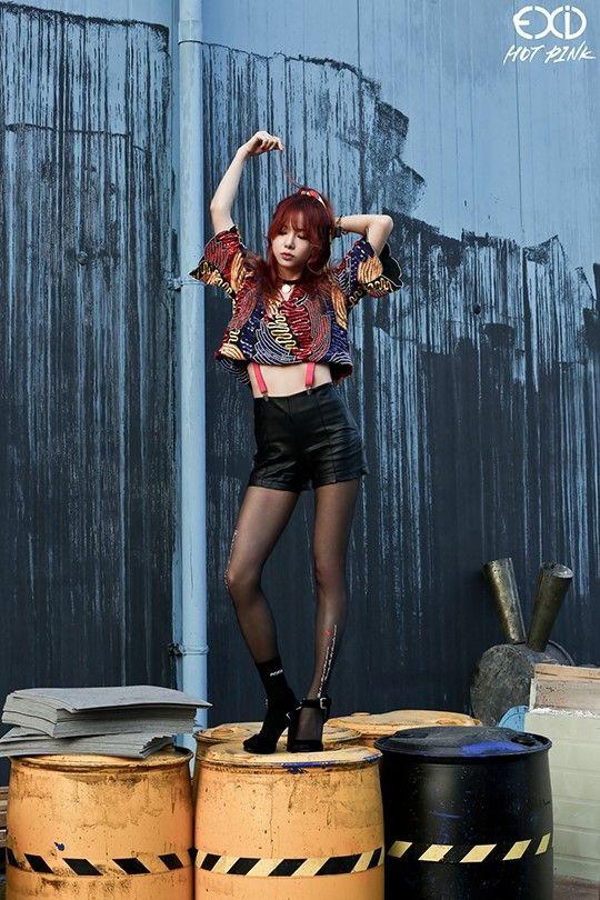 Tags: K-Pop, EXID, Hot Pink, Heo Solji