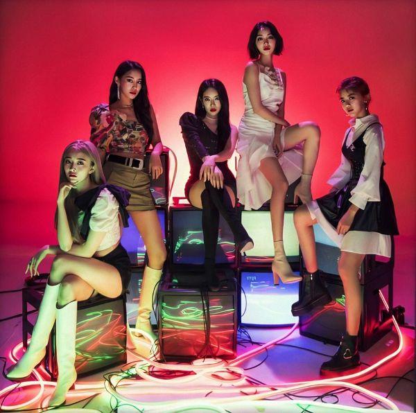 Tags: K-Pop, Hinapia, Minkyeung, Jung Eunwoo, Gyeongwon, Kang Yaebin, Kim Bada