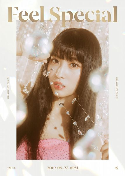 Tags: K-Pop, Twice, Hirai Momo, Text: Album Name, Text: Calendar Date, English Text, Text: Artist Name, Twitter, Feel Special