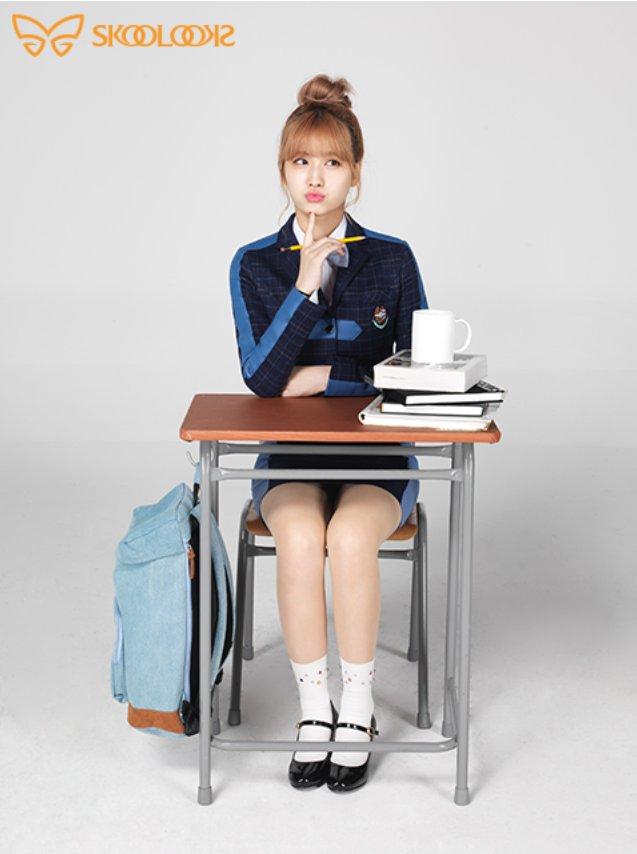 Tags: K-Pop, Twice, Hirai Momo, School Uniform, Skoolooks