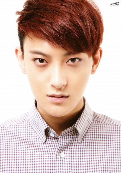 Tags: K-Pop, EXO, Huang Zi Tao, Checkered, White Background, Checkered Shirt, Red Shirt, Light Background, Android/iPhone Wallpaper