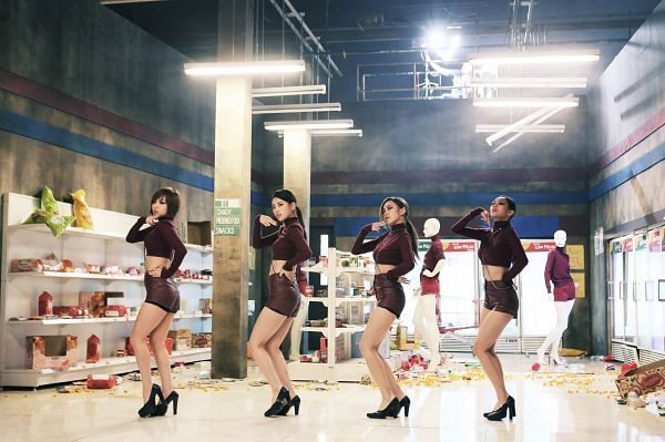 Tags: K-Pop, Miss A, Hush, Bae Suzy, Red Skirt, Hand On Hip, Hair Up, High Heels, Ponytail, Dancing, Skirt, Red Shirt