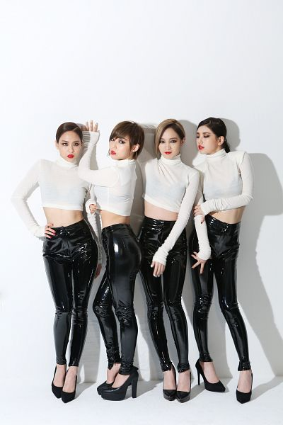 Tags: K-Pop, Miss A, Hush, Meng Jia, Bae Suzy, Min, Wang Feifei, Quartet, Full Group, Four Girls, Turtleneck, Black Pants