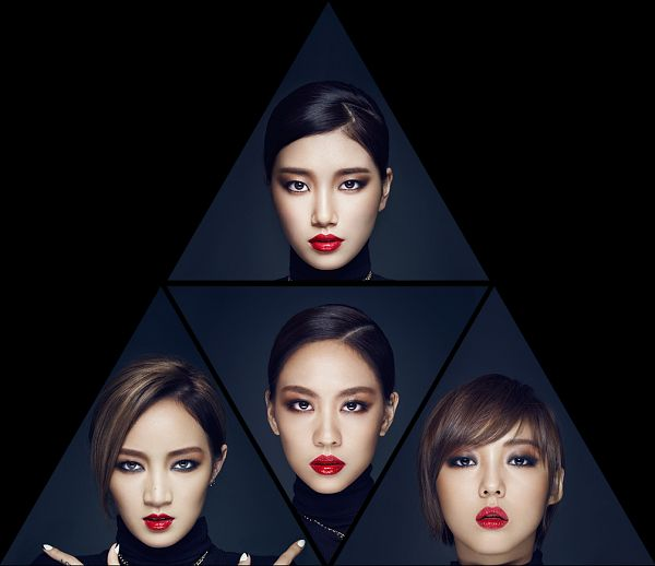 Tags: K-Pop, Miss A, Hush, Wang Feifei, Meng Jia, Min, Bae Suzy, Turtleneck, Collar (Clothes), Close Up, Full Group, Red Lips