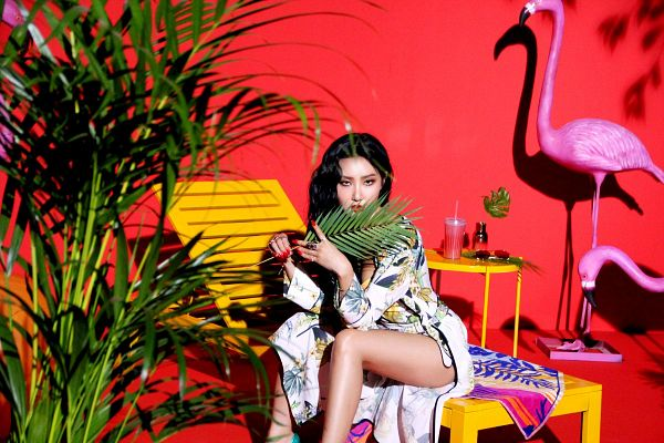 Tags: K-Pop, Mamamoo, Yes I am, Hwasa, Plant, Purple (Album)