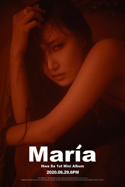 Tags: K-Pop, Mamamoo, Hwasa, Maria (Album)