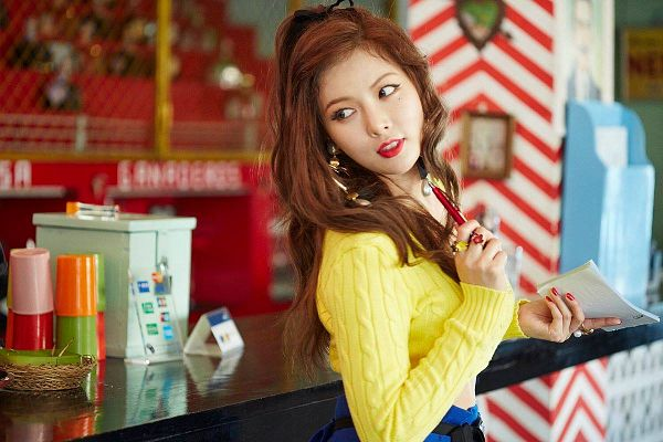 Tags: K-Pop, 4Minute, Hyuna, A'wesome