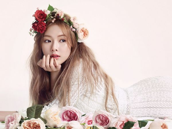 Tags: K-Pop, 4Minute, Hyuna, Magazine Scan, Allure